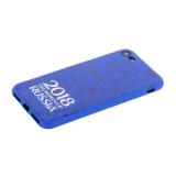 Чехол-накладка TPU Deppa D-103903 ЧМ по футболу FIFA™ Official Logotype для iPhone 8 Синий