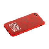 Чехол-накладка TPU Deppa D-103904 ЧМ по футболу FIFA™ Official Logotype для iPhone 8 Красный