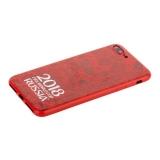 Чехол-накладка TPU Deppa D-103928 ЧМ по футболу FIFA™ Official Logotype для iPhone 8 Plus Красный