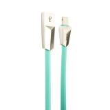 USB дата-кабель Hoco X4 Zinc Alloy rhombus Lightning (1.0м) Синий