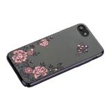 Чехол-накладка KINGXBAR для iPhone 8 пластик со стразами Swarovski 01C черный (Ванильное небо)