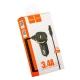 Автомобильное зарядное устройство Hoco Z14 Single (выход MicroUSB & USB: 5V & 2.1A) Черный