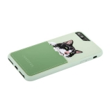 Накладка JANESPER вышивка для iPhone 7 Plus JS-IP8PBella-MT Зеленая
