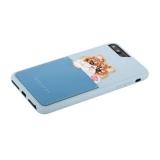 Накладка JANESPER вышивка для iPhone 8 Plus JS-IP8PBella-BU Голубой