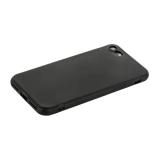 Чехол силиконовый для iPhone 8 (4.7) уплотненный в техпаке (черный)