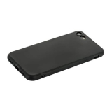Чехол силиконовый для iPhone 7 уплотненный в техпаке (черный)