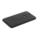 Чехол силиконовый для iPhone 8 уплотненный в техпаке (черный)