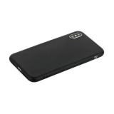 Чехол силиконовый для iPhone X (5.8) уплотненный в техпаке (черный)