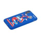 Чехол-накладка TPU Deppa D-103959 ЧМ по футболу FIFA™ Sochi для iPhone X (5.8)