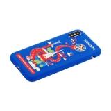 Чехол-накладка TPU Deppa D-103962 ЧМ по футболу FIFA™ Samara для iPhone X (5.8)