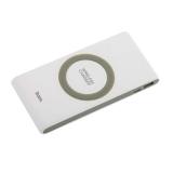 Аккумулятор внешний универсальный & беспроводное зарядное устройство Hoco B32- 8 000 mAh (USB:5V-2.1A) Белый