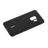 Чехол-накладка силиконовый Cherry матовый 0.4mm & пленка для Samsung Galaxy S9 Черный