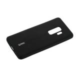 Чехол-накладка силиконовый Cherry матовый 0.4mm & пленка для Samsung Galaxy S9 Plus Черный