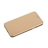 Чехол-книжка кожаный Fashion Case Slim-Fit для Samsung Galaxy S9 Gold Золотой