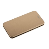 Чехол-книжка кожаный Fashion Case Slim-Fit для Samsung Galaxy S9 Plus Gold Золотой
