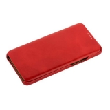 Чехол-книжка кожаный iCarer для Samsung GALAXY S9 SM-G960F Curved Edge (округлые края) Vintage Series (RS99201) Красный