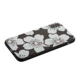 Накладка PC+TPU BLING BALLY Luxury Diamond Case для iPhone X (5.8) Цветы