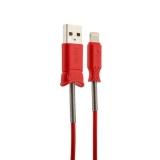 USB дата-кабель Hoco X24 Pisces Lightning (1.2 м) Красный