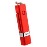 Монопод для селфи HOCO K3A Beauty Lightning Interface Selfie stick (0.65 м) 3.5-7 Red Красный