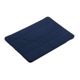 Чехол-подставка Deppa Wallet Onzo для Apple New iPad (9.7) 5-6го поколений 2017-2018г.г. Soft touch 1.0мм D-88046 Синий