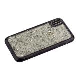 Накладка пластиковая Santa Barbara Polo&Racquet Clory Series для iPhone X (5.8) силиконовый борт Черная