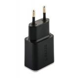 Адаптер питания Deppa Wall charger 3.4А D-11385 (2USB: 5V 3.4A) Черный