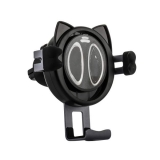 Автомобильное беспроводное Qi зарядное устройство Remax RP-WZJ7 Car Wireless Rapid Charger (5-9V/ 1.3A 5-10W), цвет черный