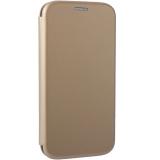 Чехол-книжка кожаный Fashion Case Slim-Fit для Honor 9 Lite (LLD-L31) Gold Золотистый