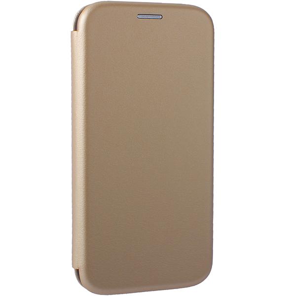 Чехол-книжка кожаный Fashion Case Slim-Fit для Samsung Galaxy A10 Золотой