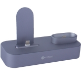 Док-станция COTEetCI Base22 Dock 2in1 stand для iPhone X/ 8 Plus/ 8 & AirPods CS7205-GY (Серый Космос) Графитовая