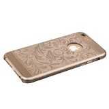 Накладка металлическая iBacks Cameo Series Aluminium Case for iPhone 6s/ 6 (4.7) - Venezia (ip60023) Gold Золото