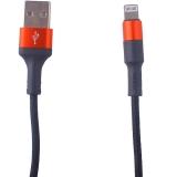 USB дата-кабель Hoco X26 Xpress charging data cable Lightning (1.0 м) Black & Red