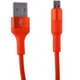 USB дата-кабель Hoco X26 Xpress charging data cable MicroUSB (1.0 м) Red