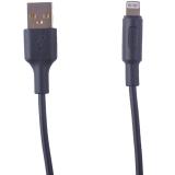 USB дата-кабель Hoco X25 Soarer charging data cable Lightning (1.0 м) Black