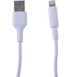 USB дата-кабель Hoco X25 Soarer charging data cable Lightning (1.0 м) White