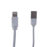 USB дата-кабель Remax Radiance Pro Series Cable (RC-117i) LIGHTNING 2.4A витой (1.0 м) Белый