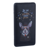 Аккумулятор внешний универсальный Hoco J13-10000 mAh Adorable puppy Power bank (2 USB: 5V-2.1A) Beauty