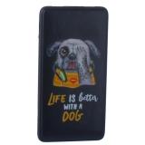 Аккумулятор внешний универсальный Hoco J13-10000 mAh Adorable puppy Power bank (2 USB: 5V-2.1A) Rudge