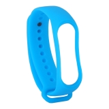 Сменный ремешок Xiaomi Mi Band 3 (гипоаллергенный силикон) Blue Голубой