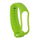 Сменный ремешок Xiaomi Mi Band 3 (гипоаллергенный силикон) Green Зеленый