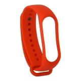 Сменный ремешок Xiaomi Mi Band 3 (гипоаллергенный силикон) Red Красный