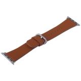 Ремешок кожаный COTEetCI W22 Band for Premier (WH5232-KR) для Apple Watch 38 мм (классическая пряжка) Коричневый