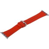 Ремешок кожаный COTEetCI W22 Band for Premier (WH5232-RD) для Apple Watch 40 мм (классическая пряжка) Красный