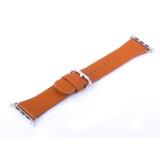 Ремешок кожаный COTEetCI W22 Band for Premier (WH5233-KR) для Apple Watch 42 мм (классическая пряжка) Коричневый