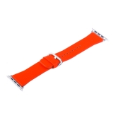Ремешок кожаный COTEetCI W22 Band for Premier (WH5233-RD) для Apple Watch 44 мм (классическая пряжка) Красный