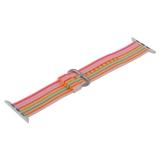 Ремешок COTEetCI W30 Nylon Rainbow Band (WH5251-WP-42) для Apple Watch 42 мм Бело-Розовый