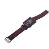 Ремешок COTEetCI W31 PC&Silicone Band Suit (WH5252-BR) для Apple Watch 44 мм Черно-Красный