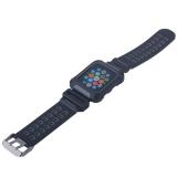Ремешок COTEetCI W31 PC&Silicone Band Suit (WH5252-BY) для Apple Watch 44 мм Черно-Графитовый