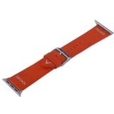 Ремешок кожаный COTEetCI W33 Fashion LEATHER классическая пряжка (WH5256-RD-38) для Apple Watch 40 мм Красный