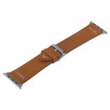 Ремешок кожаный COTEetCI W33 Fashion LEATHER классическая пряжка (WH5257-KR-42) для Apple Watch 44 мм Коричневый